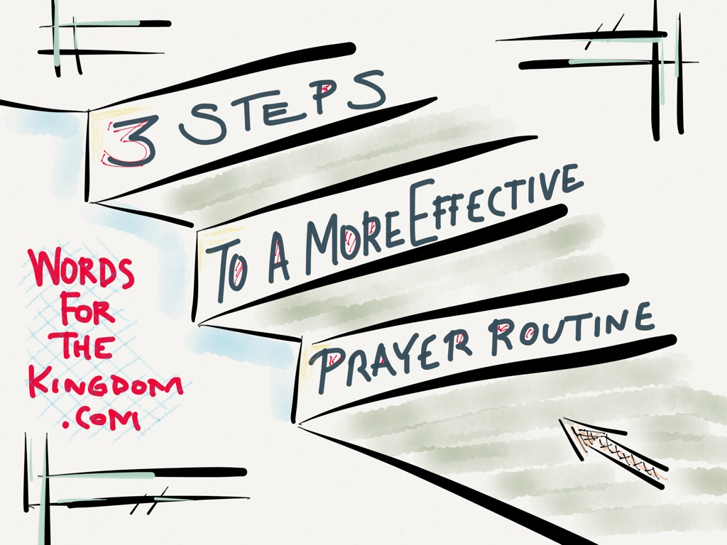 3 Steps To A More Effective Prayer Routine